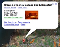 Cronk-e-Dhooney Cottage B&B on Google Maps