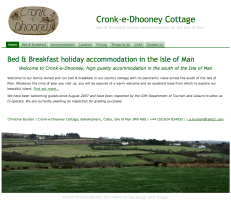Screenshot of Cronk-e-Dhooney website