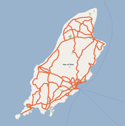 Isle of Man on Google Maps