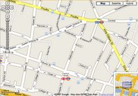 Map of London City, London from google.co.uk