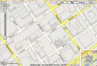 Map of downtown St Paul, MN from google.com