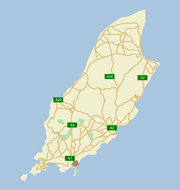 Ask.com map of the Isle of Man