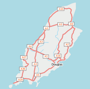 People's Map map of the Isle of Man