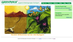 Preview of Jugend Arbeitsgruppe Greenpeace Stuttgart website
