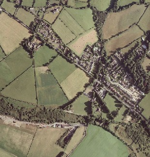 Crosby, Isle of Man - Isle of Man Government aerial imagery (2001)
