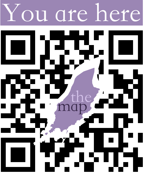 Custom design QR code for themap.im