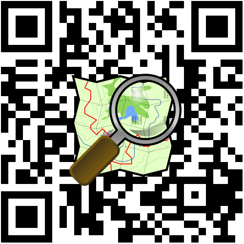Custom design QR code for OpenStreetMap